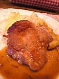 若鶏ソテー デミソース。