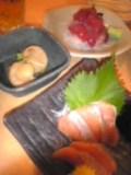 マグロ、ホタテ、鮭(魚一丁)