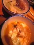 豆腐チゲ&冷麺。