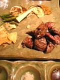 肉、アップ!