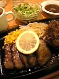 ステーキのくいしんぼ。