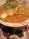 成田味噌ラーメン。