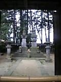 武田信玄墓。