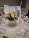 親戚結婚披露宴。