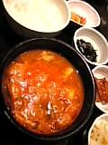 韓国料理テナム。