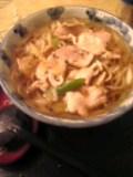 肉南ばん蕎麦(更科)
