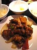 酢豚(中国家庭春餅)