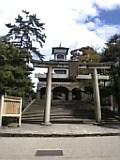 尾山神社。