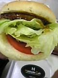 知床鶏つくねバーガー(北海道カフェ)