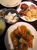 酢豚ランチ(白魂)
