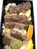 ステーキ弁当(淡路屋)