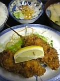 チキン串かつ定食