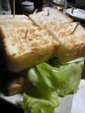 〆、仔牛サンドイッチ。