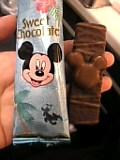 ミッキーマウスチョコ。