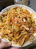 スパゲッティナポリタン。