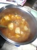 キムチ餃子鍋。