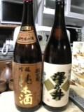 雄町米の酒&澤乃井。