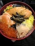 鮭いくら寿司。