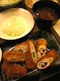 巻きカツ定食(さぼてん)