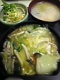中華丼定食