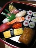宅配寿司。
