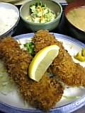 ホタテ&チキンフライ定食