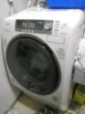 洗濯&乾燥機。