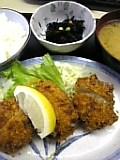ホタテフライ&クリームコロッケ定食