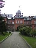 札幌 赤レンガ庁舎。