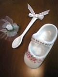 陶器の靴&スプーン。