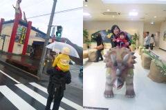 3D恐竜館。