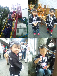 公園→お祭り!