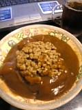 納豆カレー。