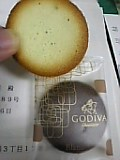 GODIVAクッキー。