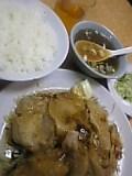 生姜焼き定食。