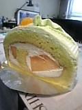 メロンケーキ。